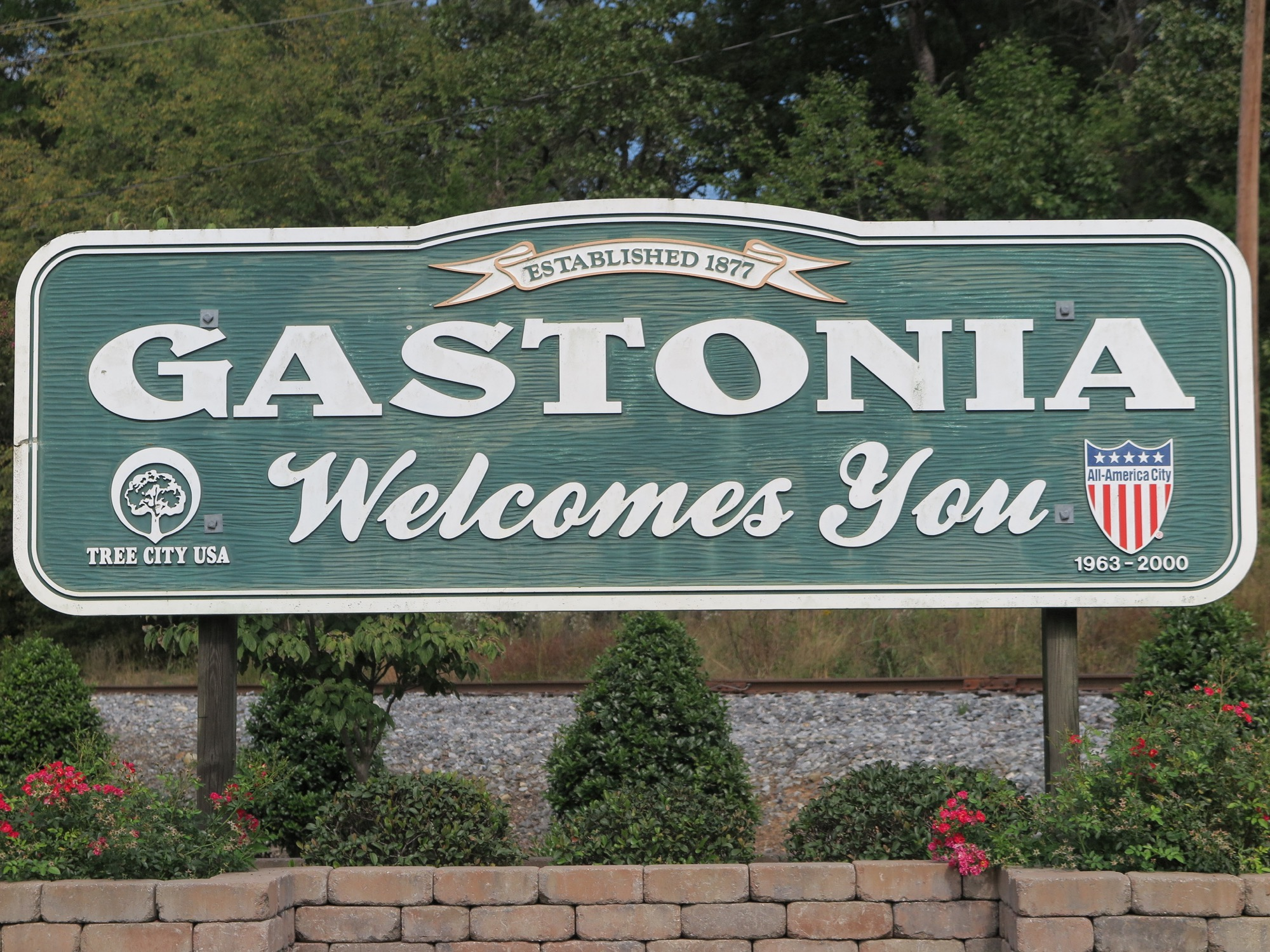 Gastonia, NC Welcome Sign